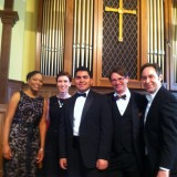 Marc with Haydn Requiem Cast